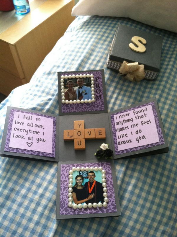 picture ideas for boyfriends birthday ; 12-scrapbook-ideas-for-lovers