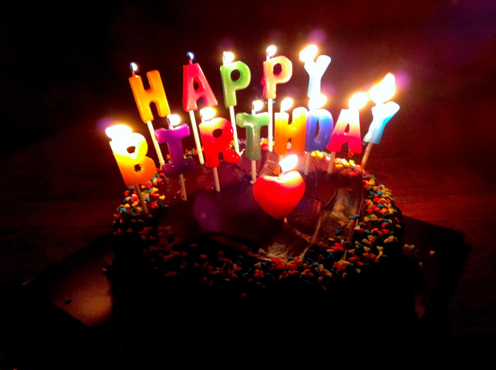 picture of birthday cake and candles ; Birthday-cake-candle-ideas