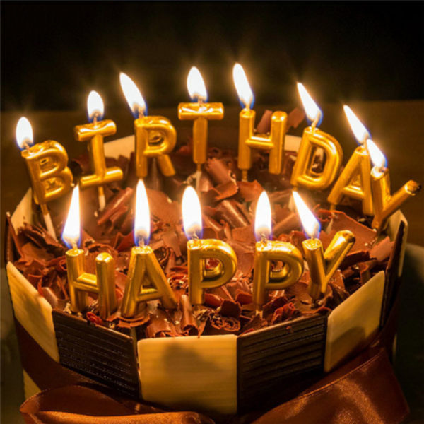 picture of birthday cake and candles ; Home-Party-Use-Ideal-Gold-HAPPY-BIRTHDAY-Candle-Cake-Candles5-600x600