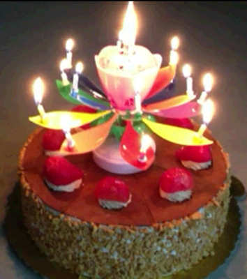picture of birthday cake and candles ; Jaxx-Markegin-decorative-musical-happy-birthday-party-candles-RAINBOW