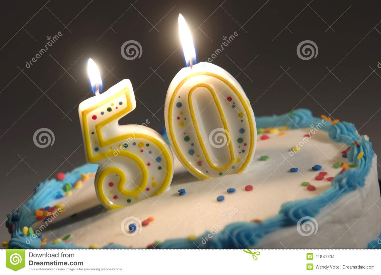 picture of birthday cake with 50 candles ; 50th-birthday-cake-21847804