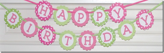 pink and green happy birthday banner ; dsc01387_thumb2