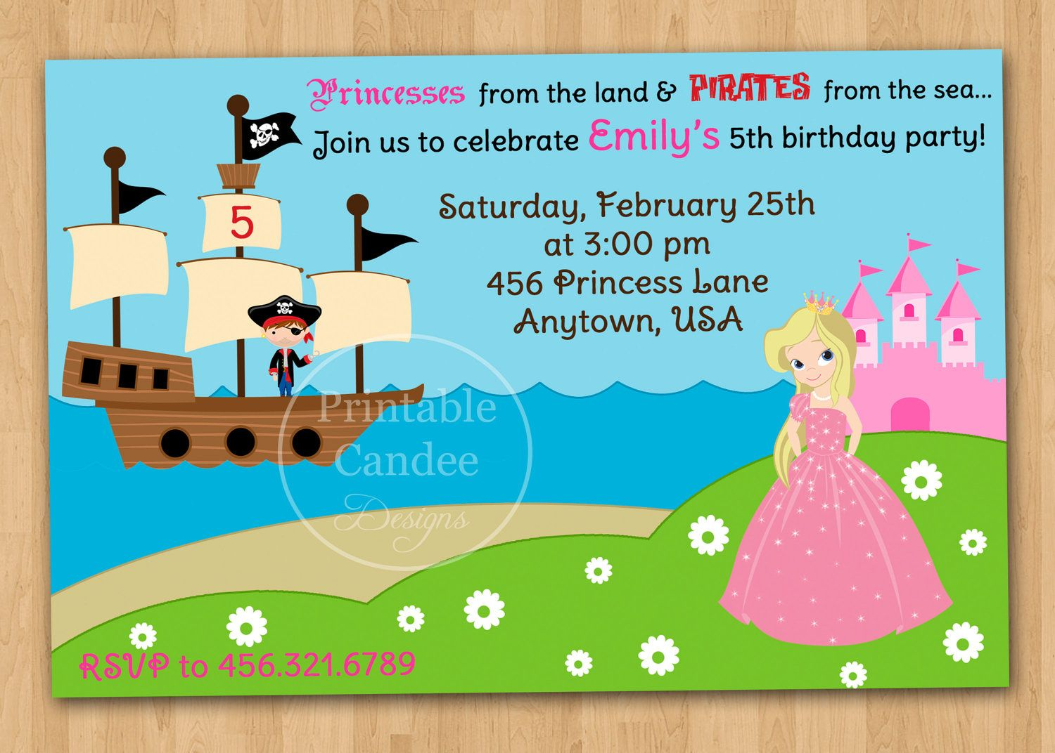 pirate birthday party invitation template free ; 13562dc72bbce3c4c19c203941702e17