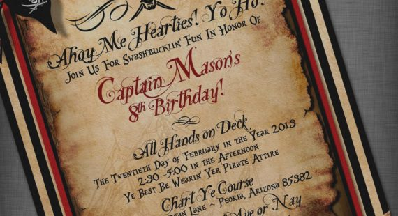 pirate birthday party invitation template free ; Images-Pirate-Party-Invitations-Template-Pinteres-Sample-Words-Pirate-Party-Invitations-Templates-Free-570x310