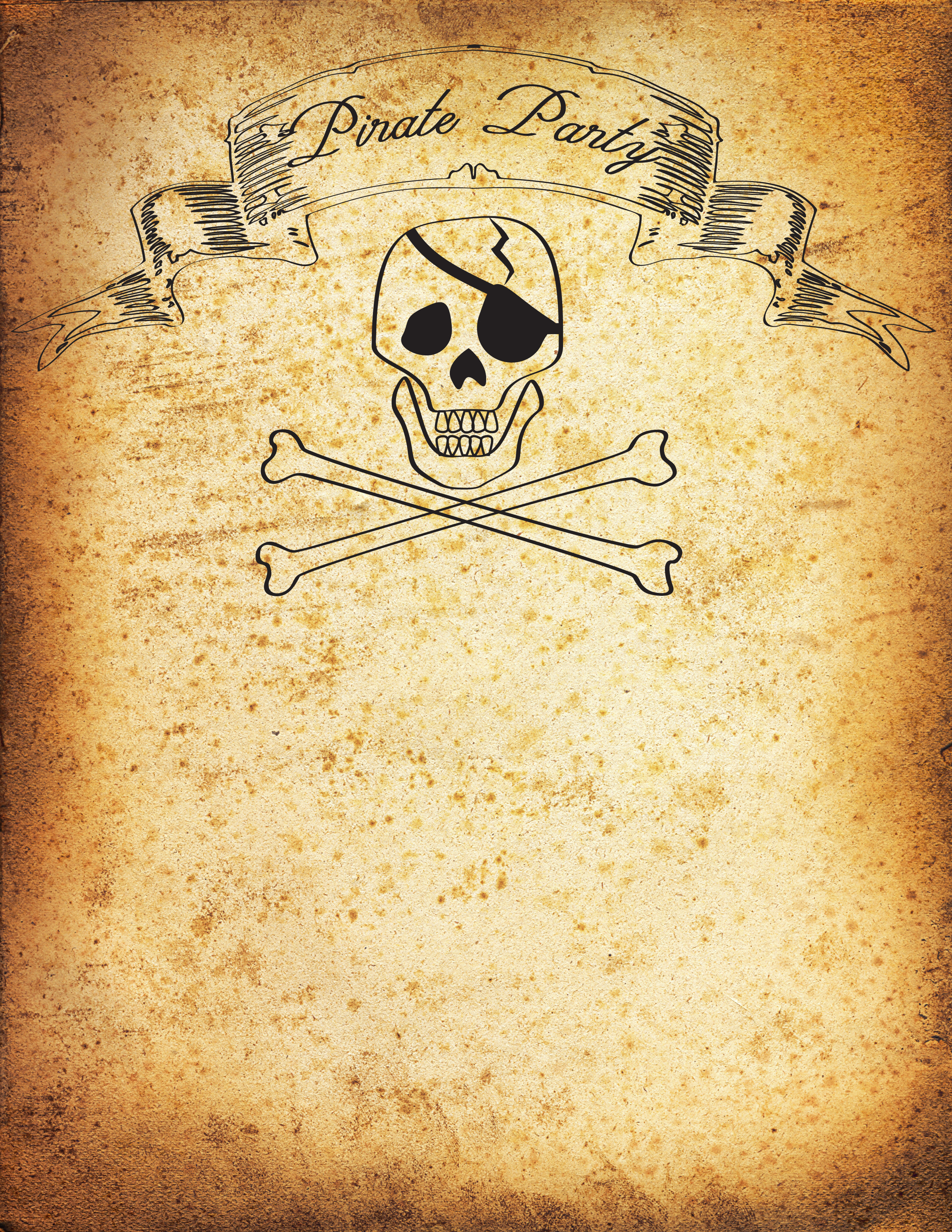 pirate birthday party invitation template free ; Pirate-party-invitations-combined-with-your-creativity-will-make-this-looks-awesome-1
