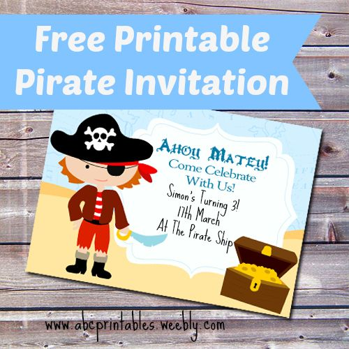pirate birthday party invitation template free ; b0129bcb98e237e5cace927662284144--pirate-birthday-parties-pirate-party