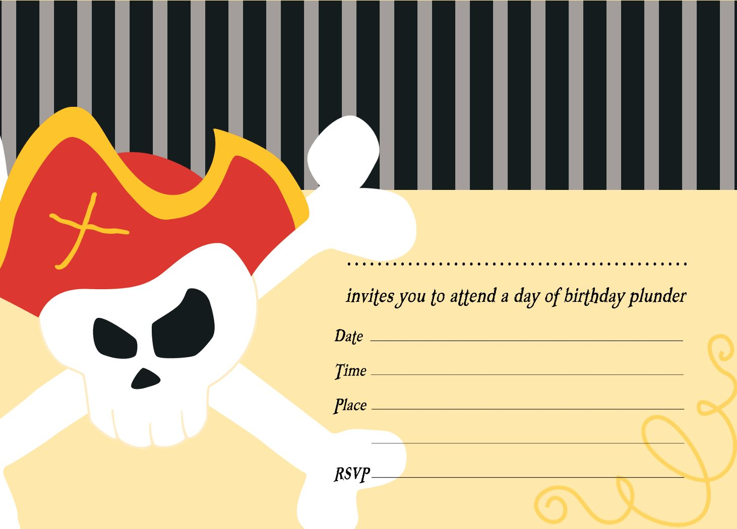 pirate birthday party invitation template free ; free_template_for_a_pirate_birthday_invitation
