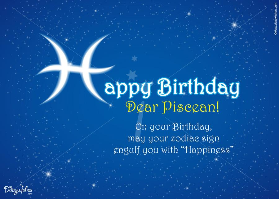 pisces birthday card ; free-online-birthday-wishes-for-pisces