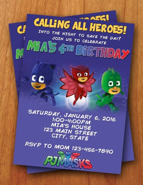 pj masks birthday invitation template ; pj-mask-invitation-template-inspirational-500-best-pj-masks-birthday-images-on-pinterest-of-pj-mask-invitation-template
