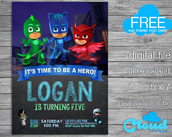 pj masks birthday invitation template ; pj-masks-birthday-invitations-elegant-pj-mask-invitation-pj-mask-party-pj-mask-birthday-of-pj-masks-birthday-invitations