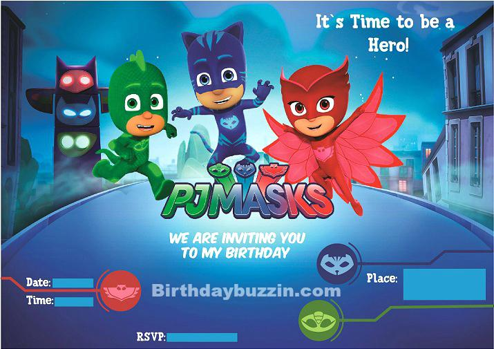 pj masks birthday invitation template ; pj-masks-invitation-template-free-free-printable-masks-birthday-invitations-invitation-printing
