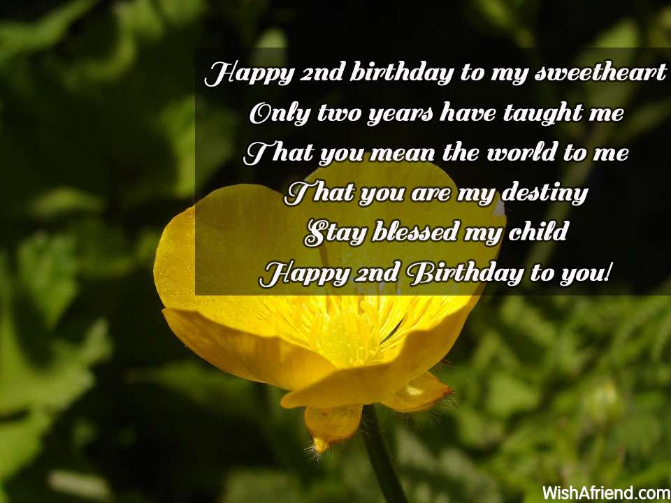 poem for my son on his 2nd birthday ; 14508-2nd-birthday-wishes