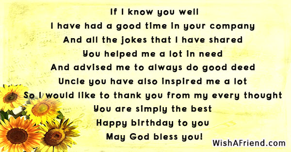 poem for my uncle on his birthday ; 15778-birthday-poems-for-uncle