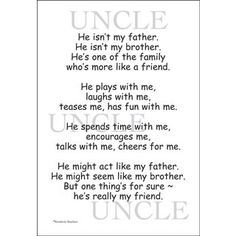 poem for my uncle on his birthday ; 1901ddd2a3ff707f6d9bf84c3891c613--niece-quotes-baby-quotes