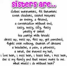 poem to your sister on her birthday ; 0c6601f5ee6c2857398673a9fef6f8a9--sister-poems-sister-sister