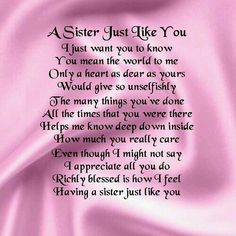 poem to your sister on her birthday ; 78ee2c37cd9f5315c9f44dd16d8ce460--birthday-wishes-for-sister-birthday-fun
