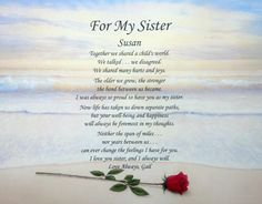 poem to your sister on her birthday ; 79eb3c3df243a3e0594be0106a266138--sister-poem-sister-sayings