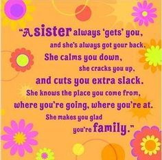 poem to your sister on her birthday ; 92e95f21ef7b914246a4bf23e1692806