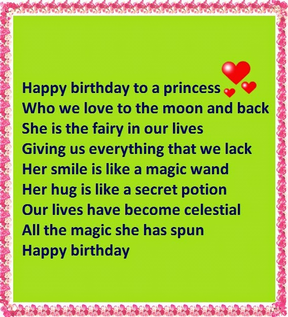 poetic birthday wishes for her ; birthday-poems-for-granddaughter