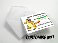 pokedex birthday card ; 3c5f020a556f49bb4c2c825b48c4d321