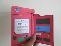 pokedex birthday card ; 6320d629f31995885f995a3784f1fe6f--pokemon-papercraft