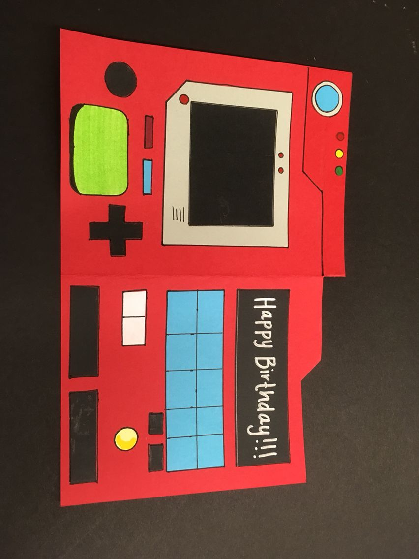 pokedex birthday card ; 9940184da43c49e51b1bde2c52d816dd