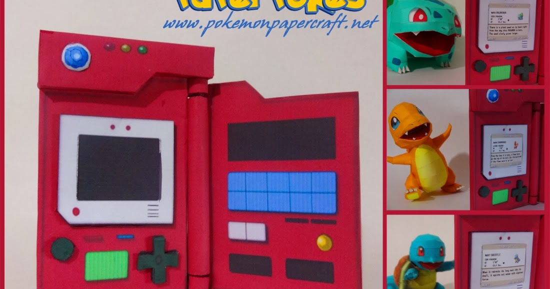 pokedex birthday card ; Pokedex+site
