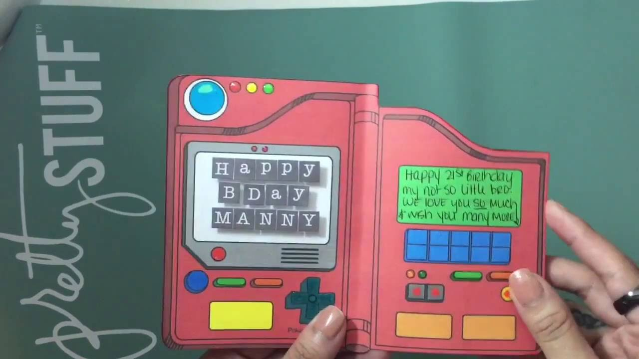 pokedex birthday card ; maxresdefault