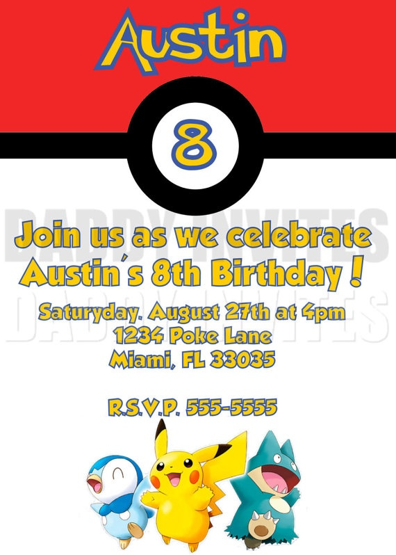 pokemon birthday party invitation template ; Excellent-Pokemon-Birthday-Invitations-To-Create-Your-Own-Birthday-Party-Invitation-Template