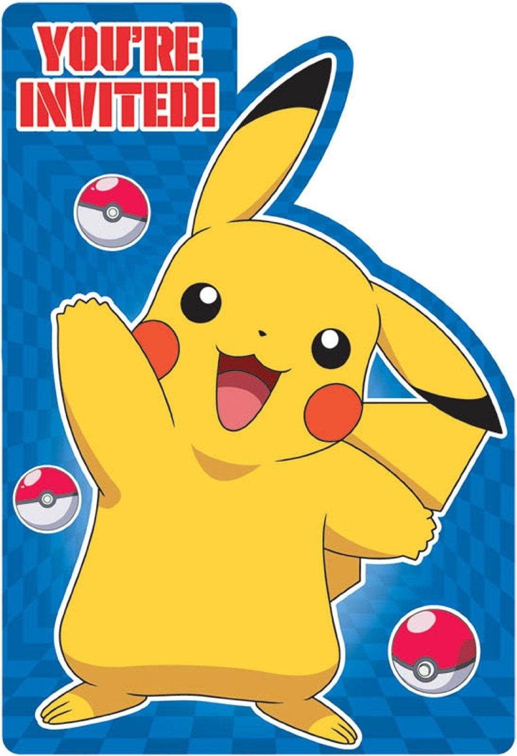 pokemon birthday party invitation template ; Pokemon-birthday-invitations-homemade