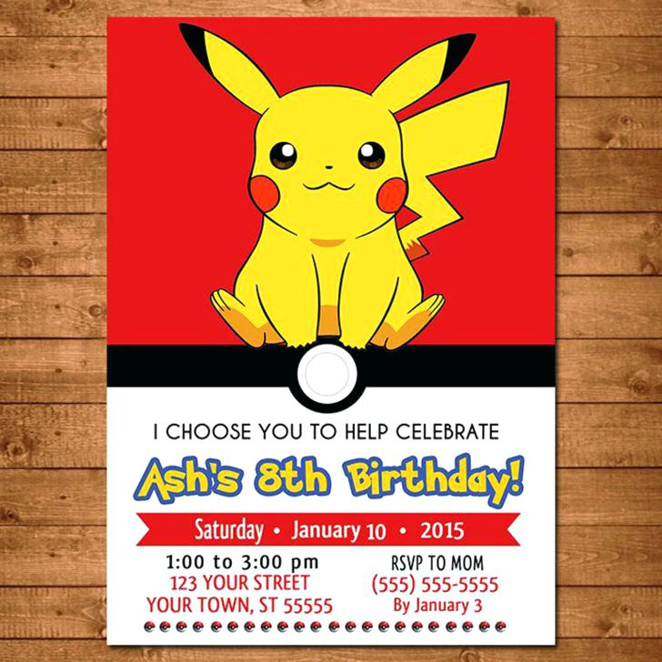 pokemon birthday party invitation template ; pokemon-birthday-party-invitations-birthday-stunning-birthday-party-invitation-party-invite-pokemon-birthday-party-invitation-template