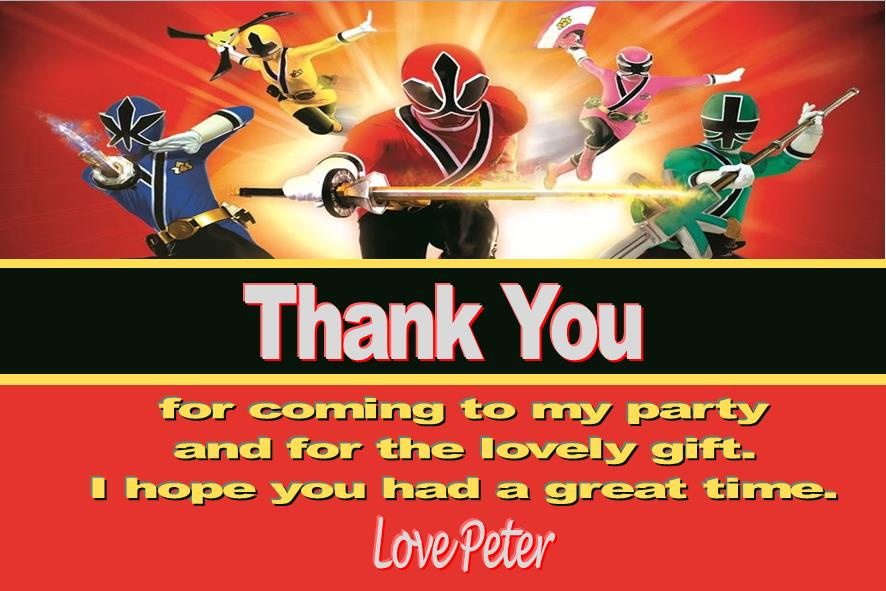 power rangers birthday invitation cards ; personalised-power-rangers-thank-you-cards-603-p