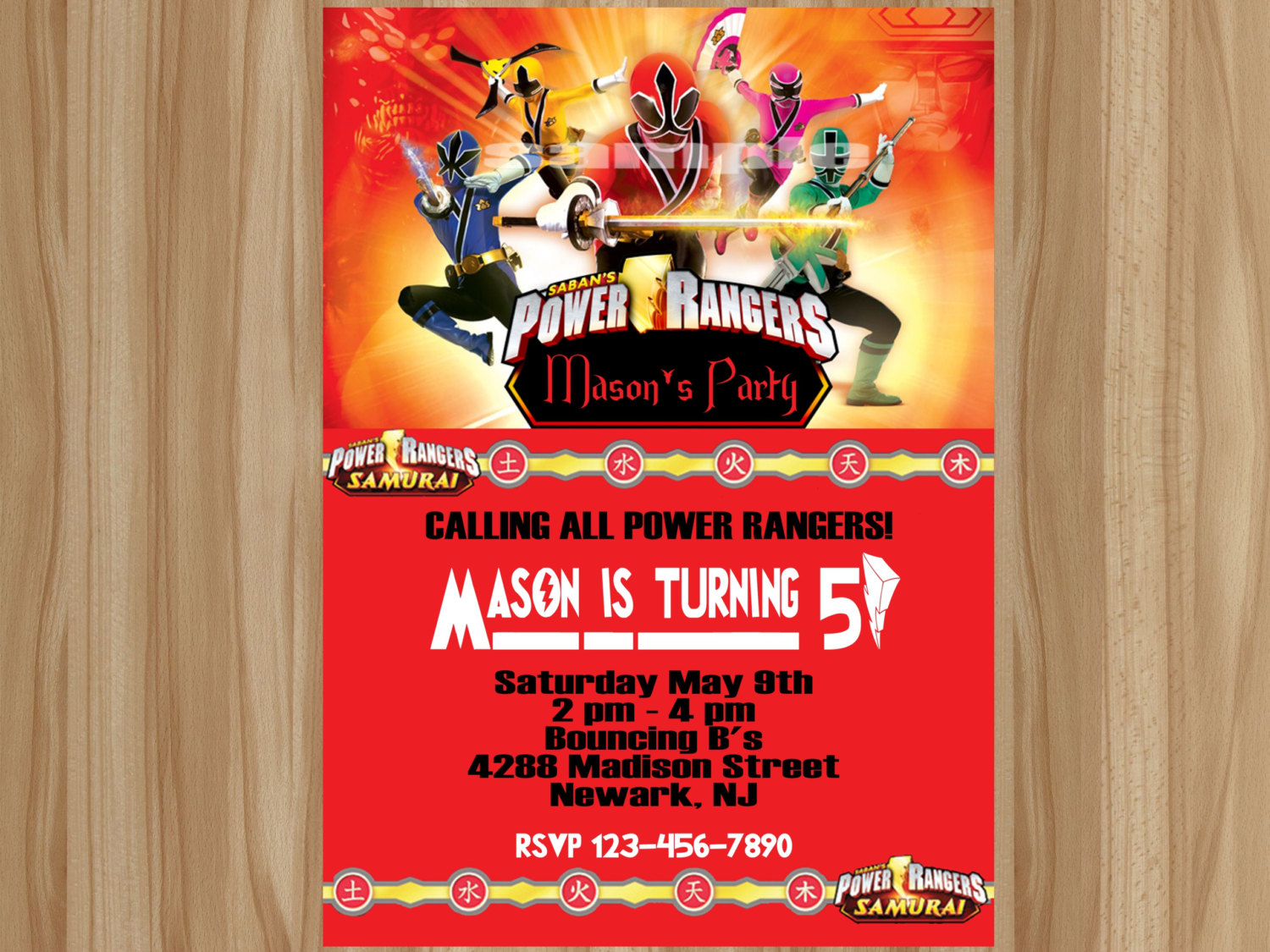 power rangers birthday invitation cards ; power-ranger-birthday-invitations-by-way-of-using-an-impressive-design-concept-for-your-appealing-Birthday-Invitation-Templates-12