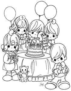 precious moments birthday coloring pages ; 49c0b1318d31400c80a481a5de7ae269