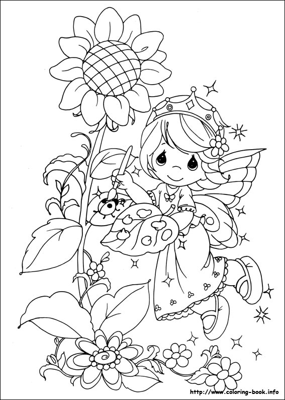 precious moments birthday coloring pages ; precious-moments-42