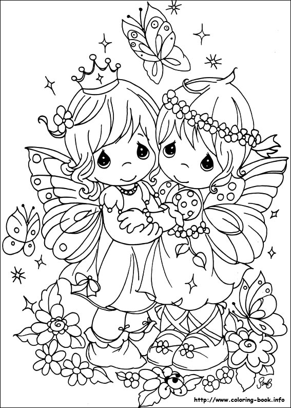 precious moments birthday coloring pages ; precious-moments-43