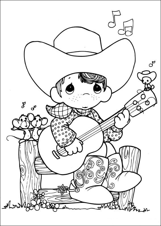 precious moments birthday coloring pages ; precious_moments_36