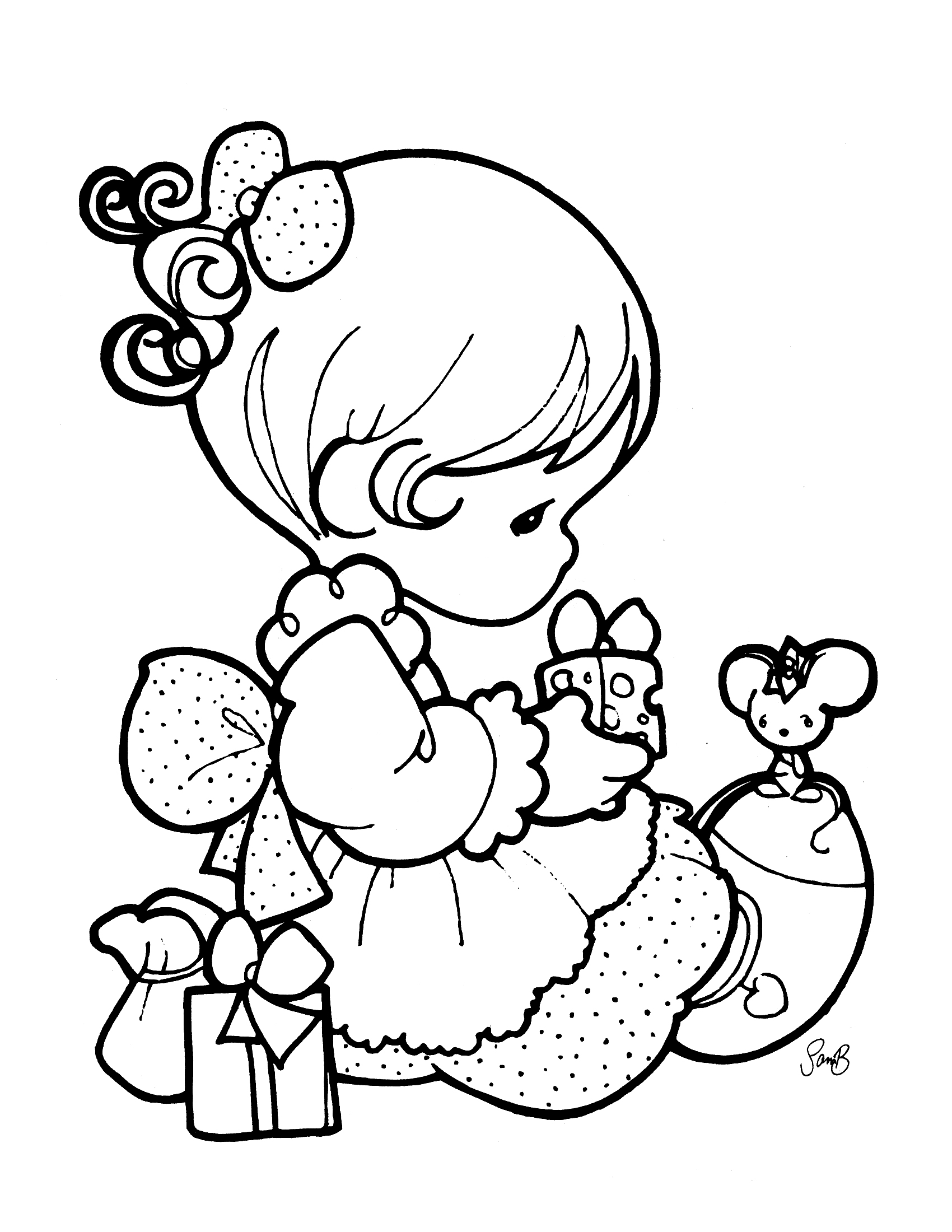 precious moments birthday coloring pages ; refundable-precious-moment-coloring-pages-moments-page-pinterest