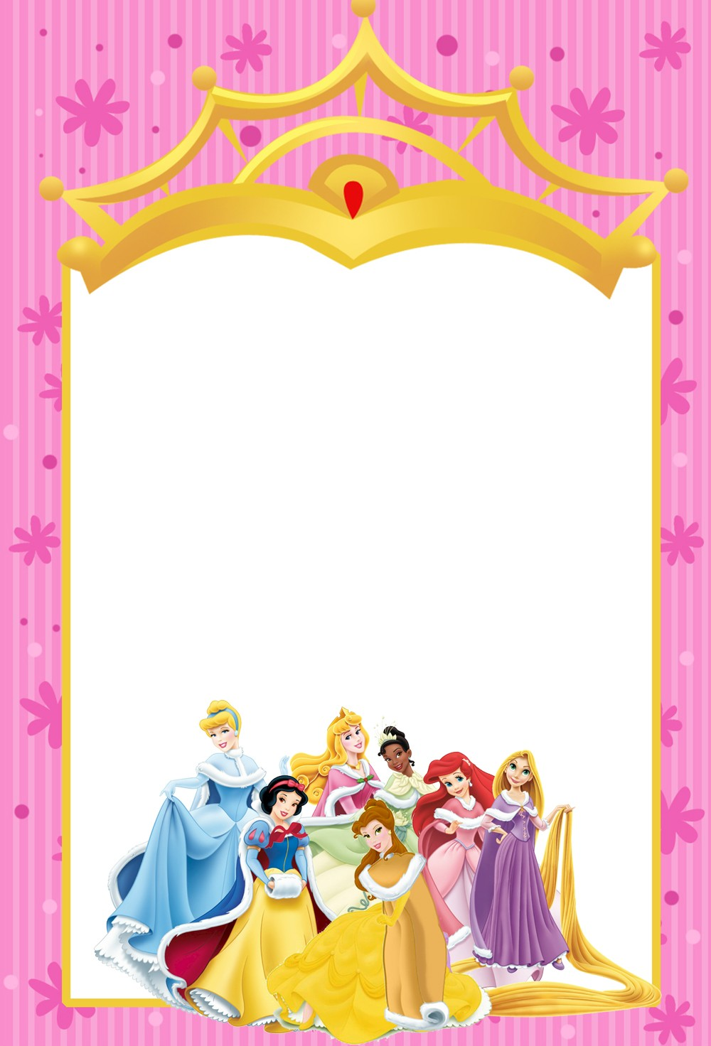 princess birthday invitation templates free ; disney-princess-party-invitations-with-a-adorable-invitations-specially-designed-for-your-Party-Invitation-Templates-8