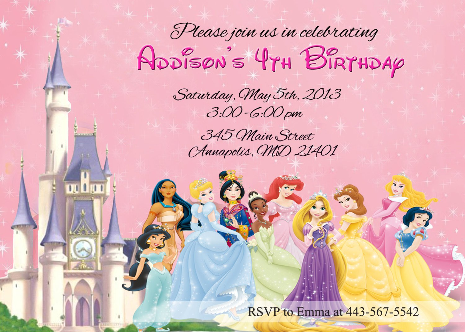 princess birthday template ; disney-princess-birthday-invitation-free-template