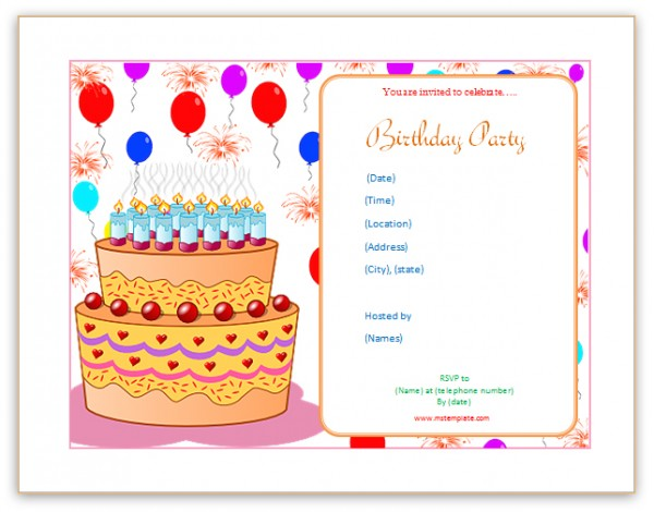 print your own birthday invitations ; Incredible-Birthday-Party-Invitation-Template-Word-To-Create-Your-Own-Birthday-Invitation
