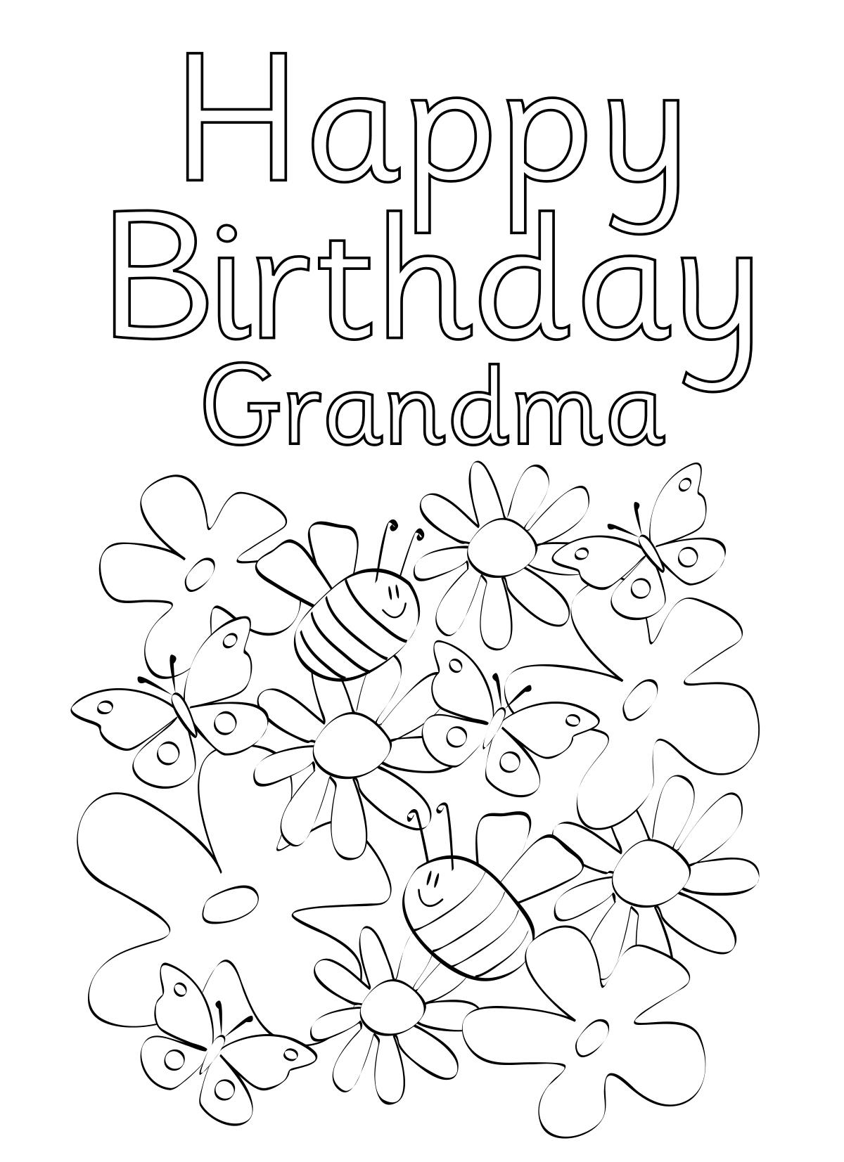 printable birthday cards to color for grandma ; printable-birthday-cards-to-color-for-grandma-happy-birthday-cards-drawing-34