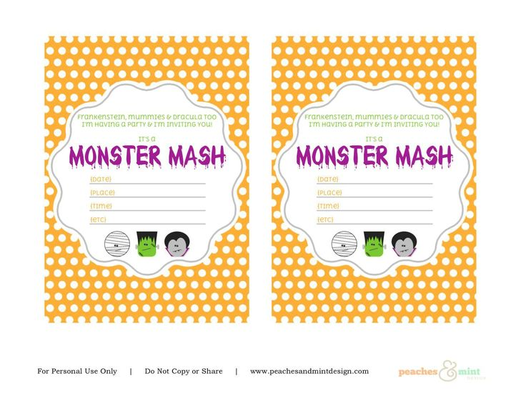 printable halloween birthday invitations ; free-printable-halloween-invitations-474-best-birthday-invitations-template-images-on-pinterest