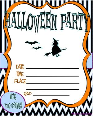 printable halloween birthday invitations ; free-printable-halloween-party-invitations-and-drop-dead-invitations-fitting-aimed-at-giving-pleasure-to-your-Party-Invitation-Templates-8