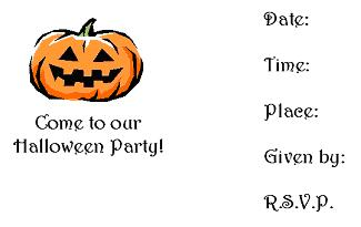 printable halloween birthday invitations ; halloween3i