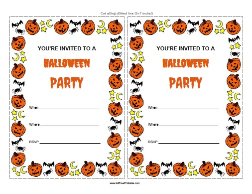 printable halloween birthday invitations ; printable-halloween-party-invitations-for-the-invitations-design-of-your-inspiration-Party-Invitation-Templates-party-12