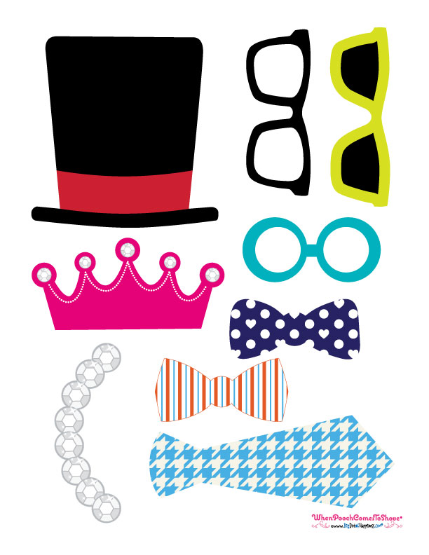 printable photo booth props birthday ; Photo-Props8