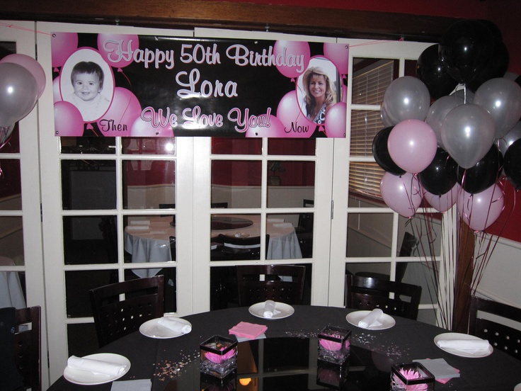 purple 50th birthday banners ; b3919b03061dd2057ed6d26e40f89c2e--birthday-banner-ideas-th-birthday-decorations