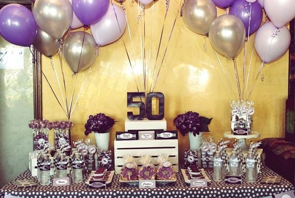 purple 50th birthday banners ; purple-50th-birthday-banners-unique-50th-birthday-decoration-ideas-photograph-of-purple-50th-birthday-banners