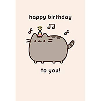 pusheen birthday card uk ; 41IAO2pLFNL